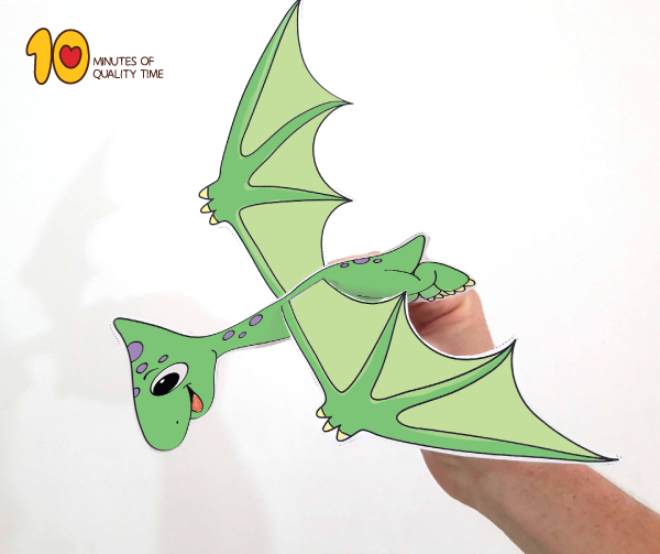 Pterodactyl Craft printable