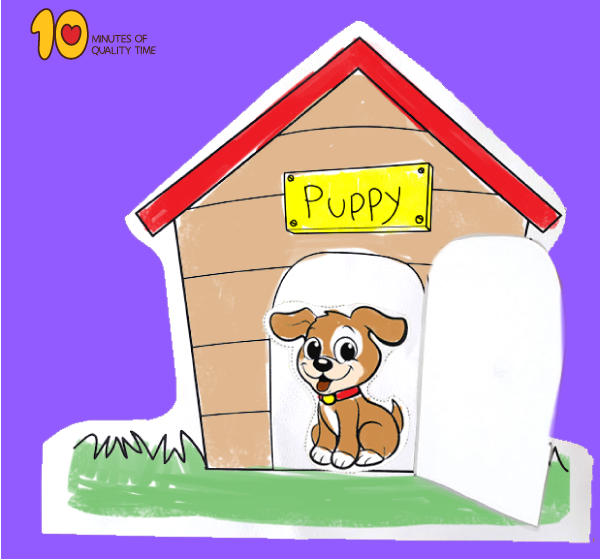 Puppy in Dog House