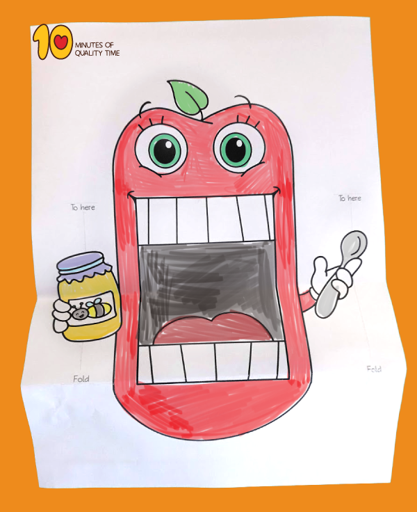 Rosh Hashanah Surprise Apples And Honey Printable