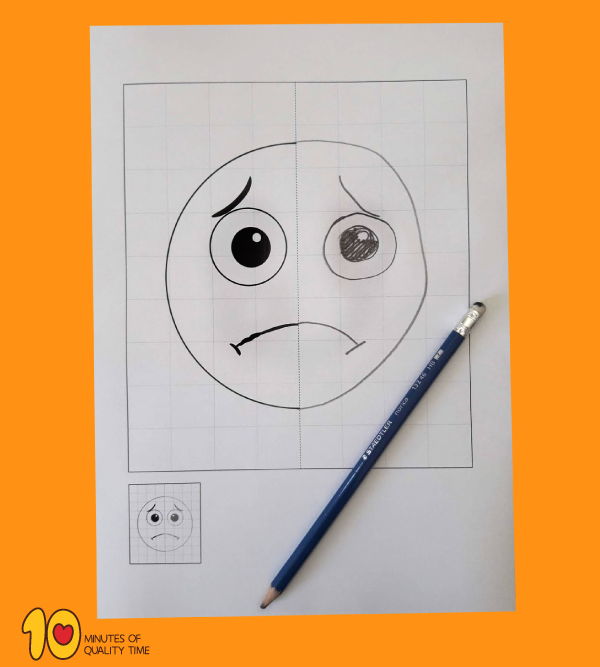 Emotions Symmetry Worksheets
