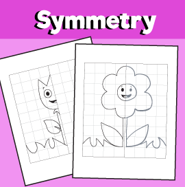 Flower Symmetry Worksheets