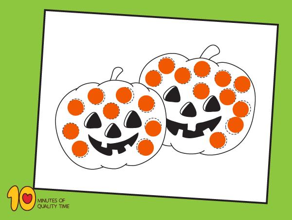Halloween Do a Dot Printables