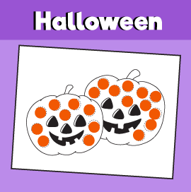 halloween dot activities