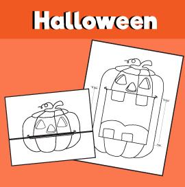Pumpkin Surprise Expression for Halloween