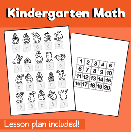 Math-for-Kindergarten-Counting-Penguins-1-20