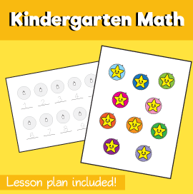 Math-for-Kindergarten-Counting-Stars-1-10‏