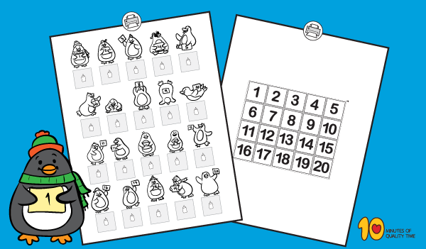 Math-for-Preschool-Counting-Penguins-1-20-