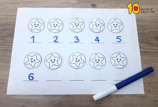 Math Lesson plan for preschool