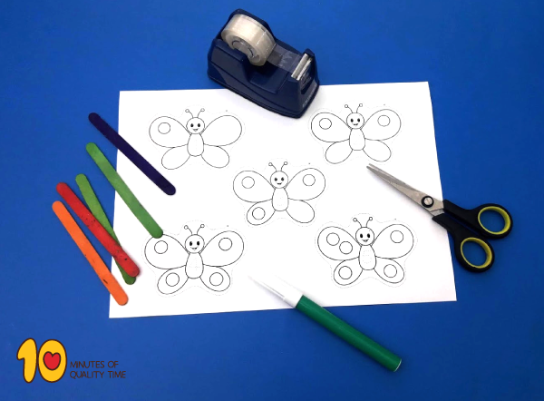 math for preschool - lesson plan of counting 1 to 5