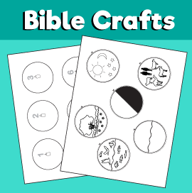 Bible Creation Story Worksheet
