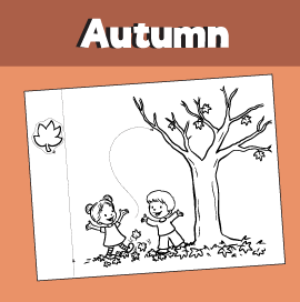 `Fall Printable Craft - Tree in the Fall