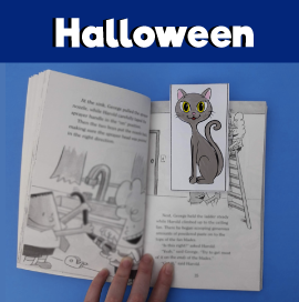 Halloween-Bookmarks