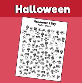 Halloween I Spy