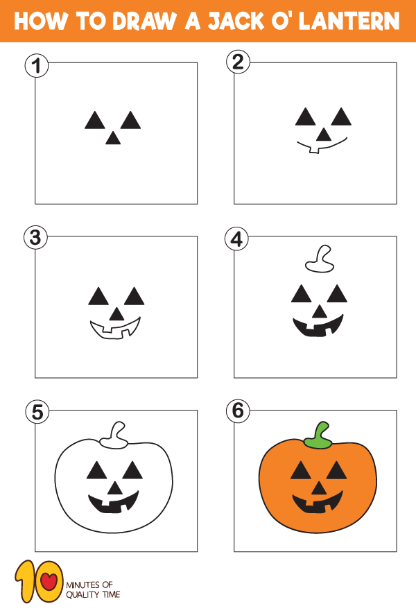 How-to-Draw-a-Jack-O'-Lantern