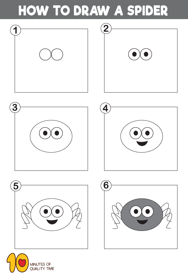 How-to-Draw-a-Spider