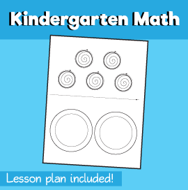 Math for Kindergarten - Combinations Out of Five