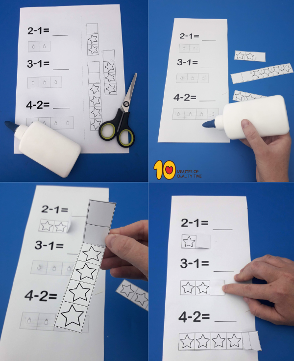 Math lesson plan for kindergarten