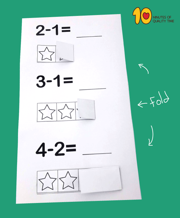 Lesson plan for kids - math
