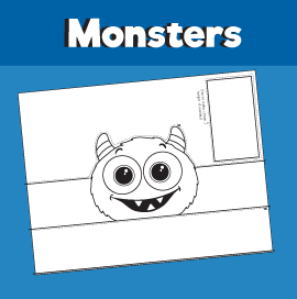 Monster Crown Printable