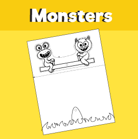 Monsters on Seesaw