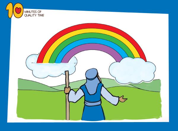 Noah s Ark Rainbow Craft 10 Minutes