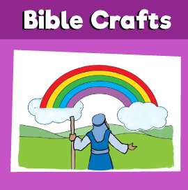 Noah's Ark Rainbow Craft
