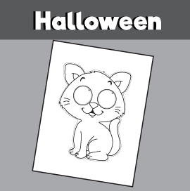 Printable Halloween Cat Mask