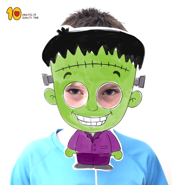 Printable Halloween Frankenstein