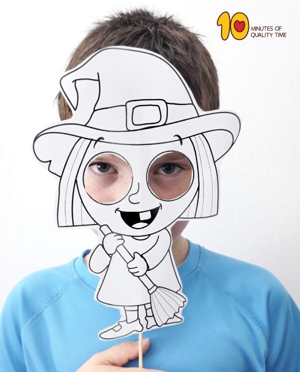 Printable Halloween Mask Templates