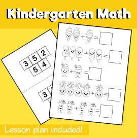 Math for Kindergarten- Simple Addition