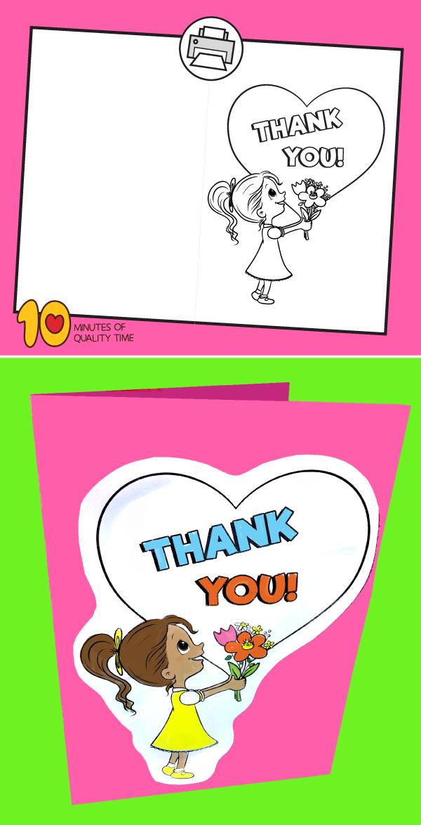 teachers day card for kids