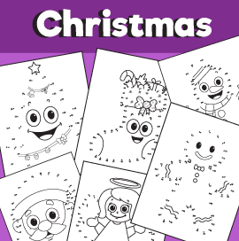Christmas Dot to Dot Printable Pack