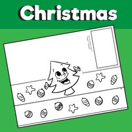 Christmas Tree Printable Crown