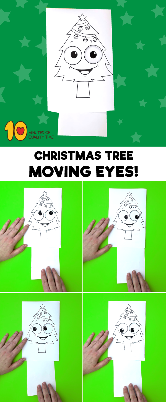 Christmas tree printable crafts