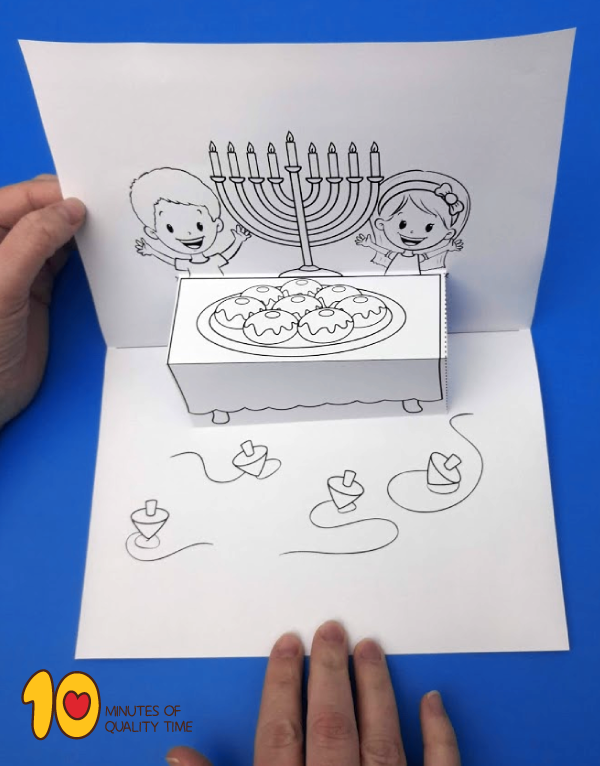 hanukkah crafts for preschoolers