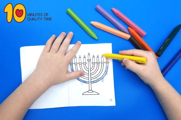 menorah arts and crafts