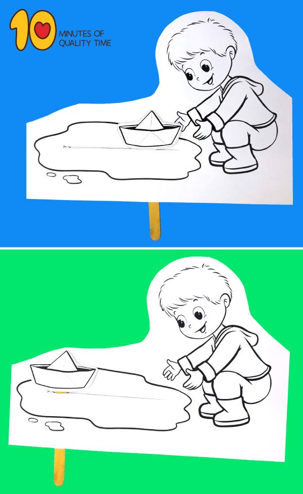 puddle crafts