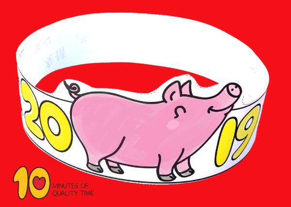 Chinese New Year 2019 Pig Crown – 10 Minutes of Quality Time