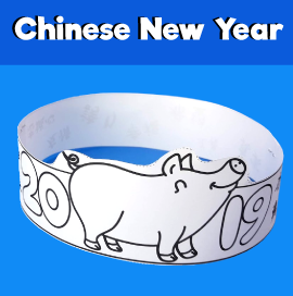 Chinese New Year 2019 Pig Crown