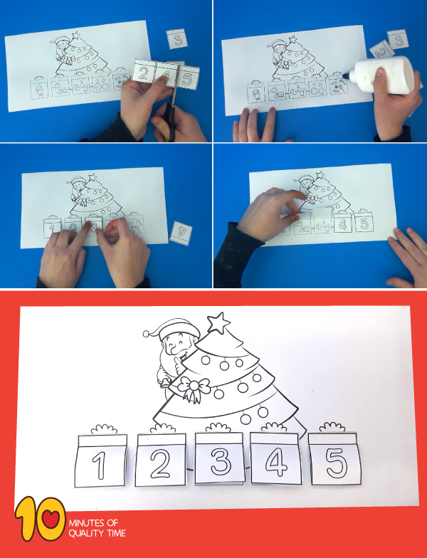 Christmas Counting Printable