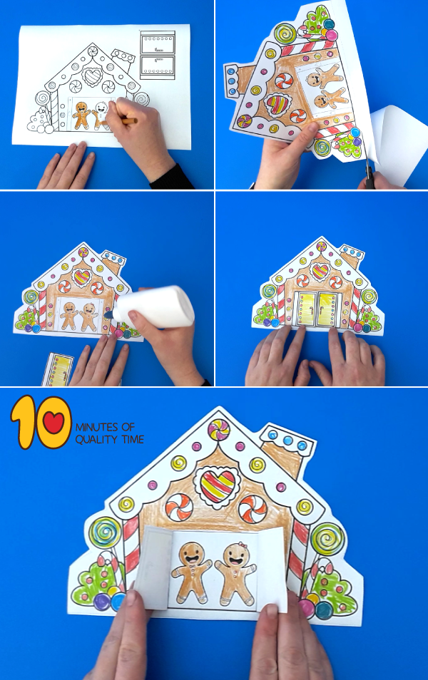 gingerbread house printable