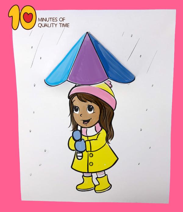 umbrella craft paper