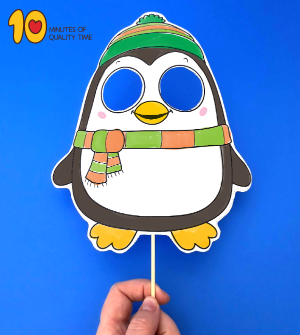 penguin papercraft