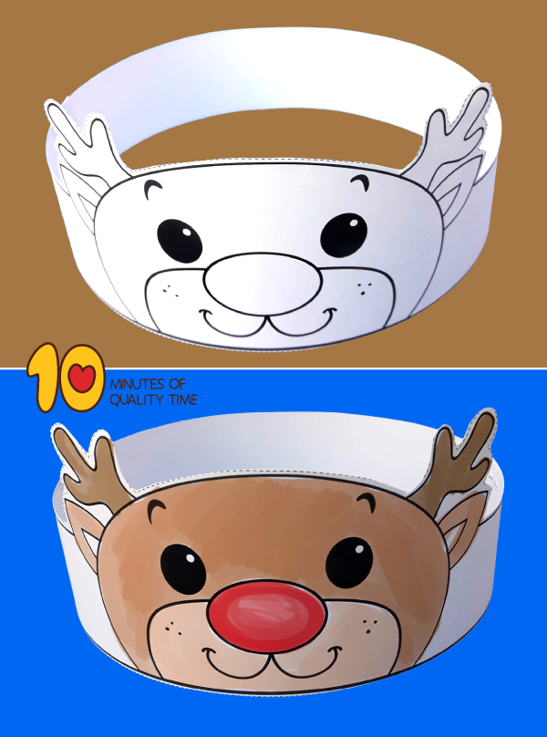 reindeer craft kindergarten