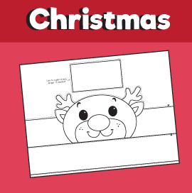 Reindeer Crown Template