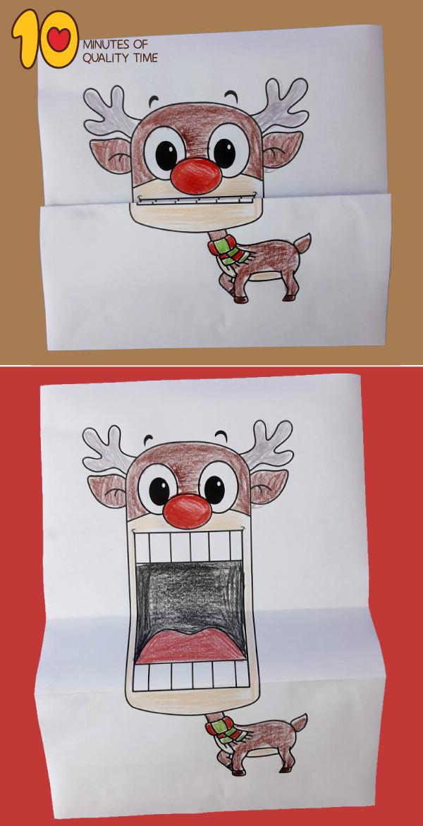 reindeer craft printable