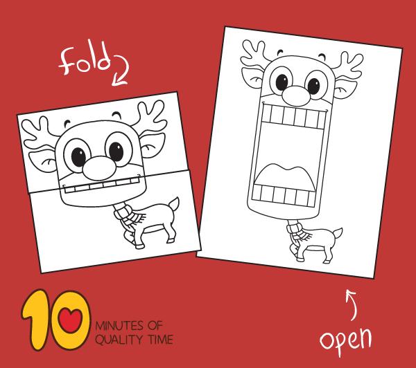 reindeer template printable