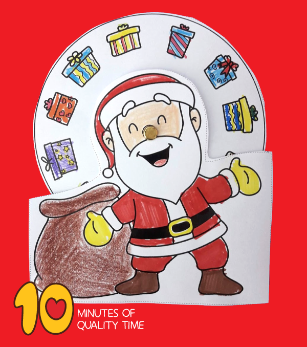 santa claus with gifts crafts pinterest