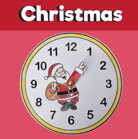 Santa Clock Countdown