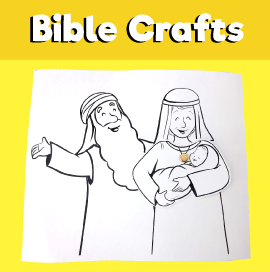 Abraham and Sarah Have a Baby Craft